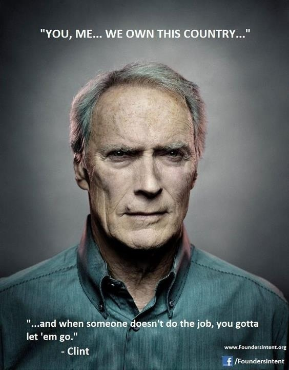 i love clint eastwood