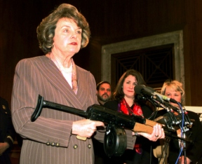 "Dianne ""Machine Gun"" Feinstein"