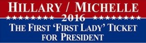 hillary_clinton_michelle_obama_2016_car_magnet